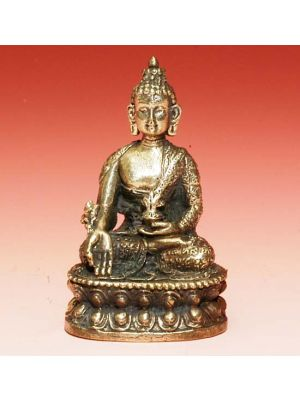 White Metal Medicine Buddha 2