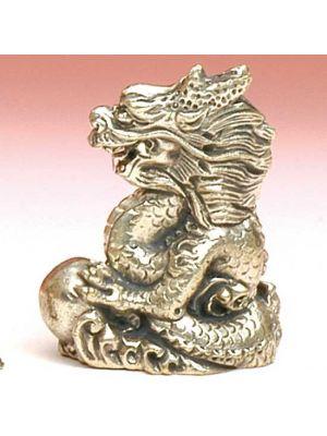 White Metal Figurine Dragon