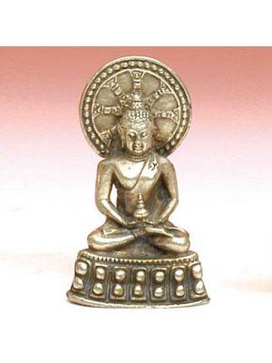White Metal Figurine Buddha