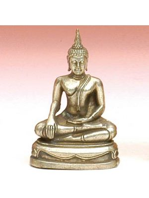 White Figurine Buddha Sitting