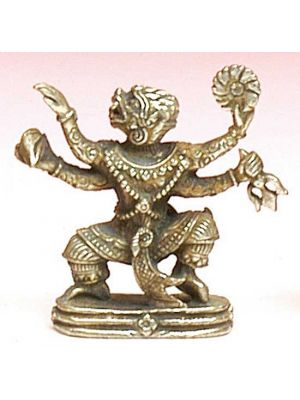 Mini Metal Figurine Hanumana