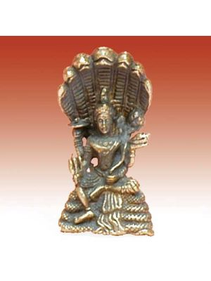 Mini Metal Small Vishnu