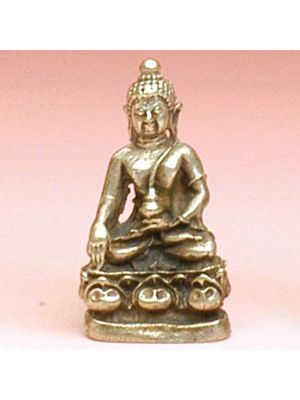 Mini Metal Small Buddha
