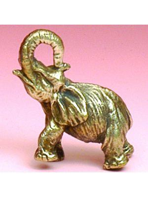 Mini Metal Figurine Elephant