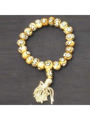 Bone Ying Yang Bracelet
