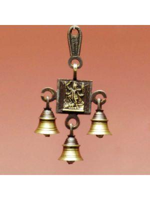 Brass Door Bell Kali Antique 7