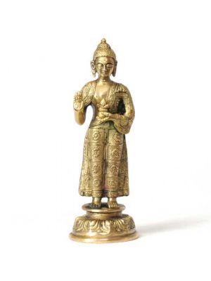 Brass Buddha Standing 6