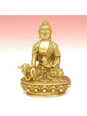 Brass Medicine Buddha 3.5