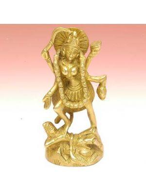 Brass Figurine Kali 4.5