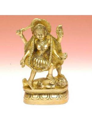 Brass Figurine Kali 6