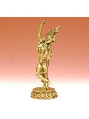 Brass Mayadevi - Buddha's Mother 9