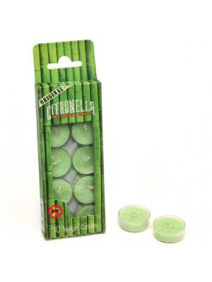 Citronella Anti Mosquito Tealight Candles Box/10