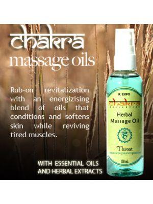 Chakra Collection Massage Oils