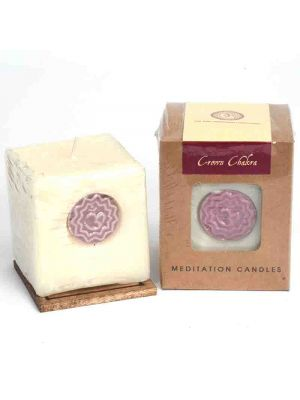 CHAKRA CANDLE 300G CROWN