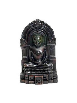 Resin Meditating Buddha 5.5