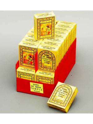 India Temple Cones 25 pcs - 36 packs