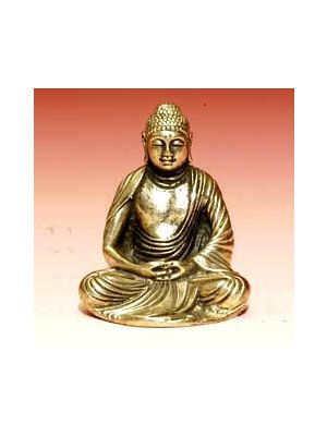 White Metal Buddha Japanese1.7