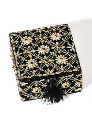 Embroidered Velvet Box 4