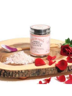 Herbal Face Pack in Steel Jar (6 scents)