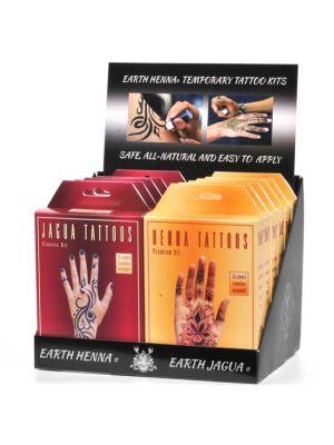 Earth Henna & Earth Jagua Display