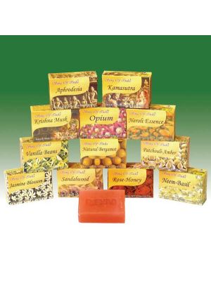 Herbal Soap with Essential Oils (13 scents)