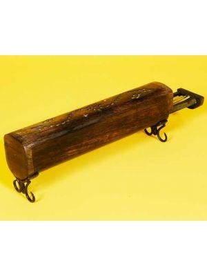 Wood Incense Burner Box with Iron Legs