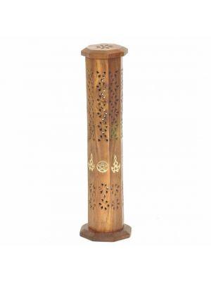 Incense Burner Tower Octagon.Star 12