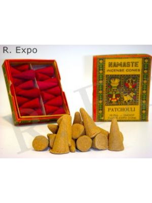 Herbal Namaste Incense Cones (21 scents)