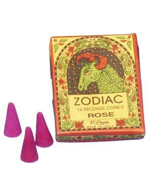 Herbal Zodiac Incense Cones 16 pc (12 scents)