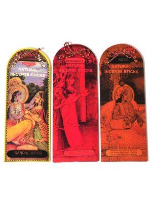 Natural Geet Govinda Incense Sticks 25g (4 scents)