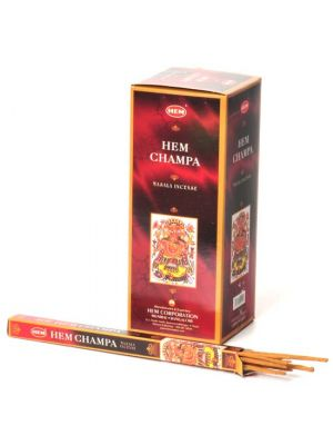 HEM Champa Masala Incense 8 sticks, Box/25