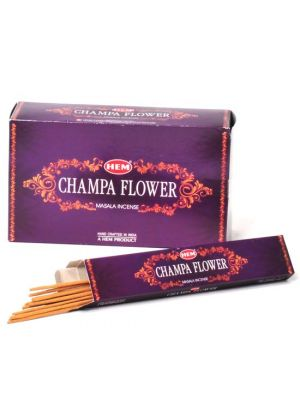 HEM Champa Flower Masala Incense 15 sticks, Box/12