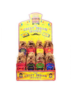 Great Indian Incense Display - 48 packs