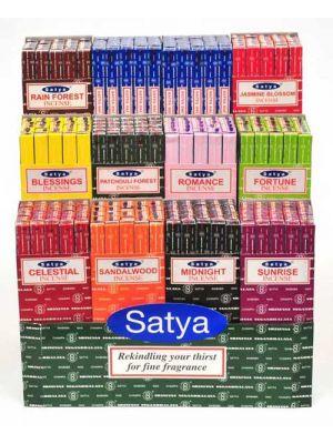 Satya Nag Champa 10g Display of 300 packs