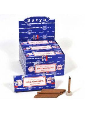 Satya Nag Champa Dhoop Sticks 10 pcs Box/12