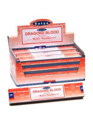 Satya Dragons Blood Incense 15g Dozen