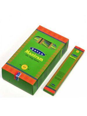 Satya Mantram Incense 15g Box/12