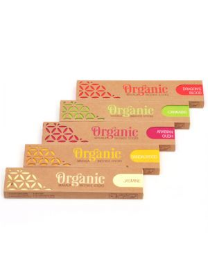 Organic Goodness Masala Incense - 15g Box/12 (11 scents)