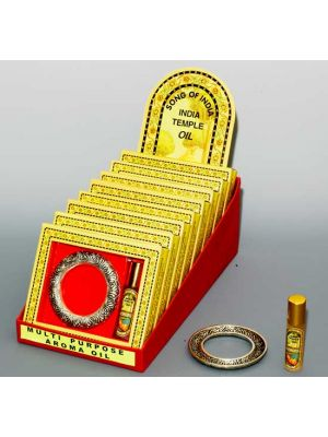 India Temple Aroma Oil With Ring Display/8