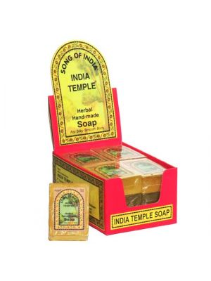India Temple Soap - Display of 12