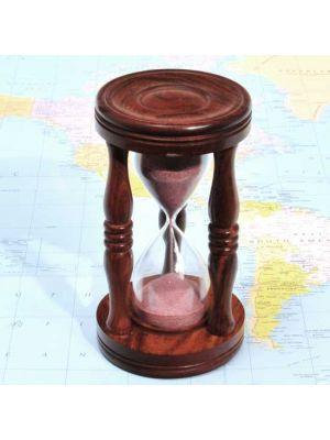 Wood Hourglass 6.5
