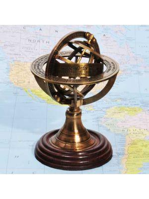 Brass Armillary Sphere 5