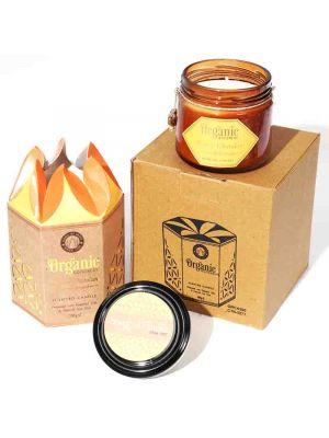 Organic Goodness Soy Candle Sandalwood