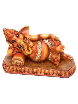 Polyresin Reclining Ganesha 5