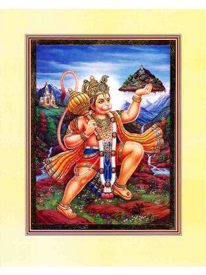 Flying Hanuman Gold10