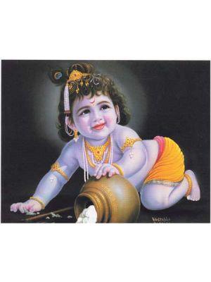 Baby Krishna Poster11