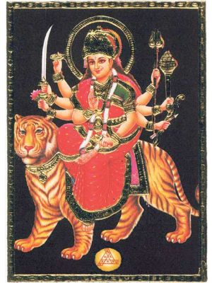 Durga with Tiger  7