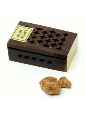 Amber Resin in Wood Box 5g (10 scents)