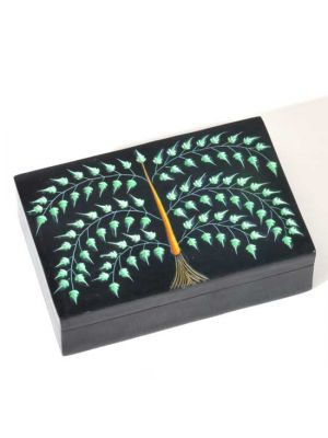 Carved Soapstone Tree of Life Box 4