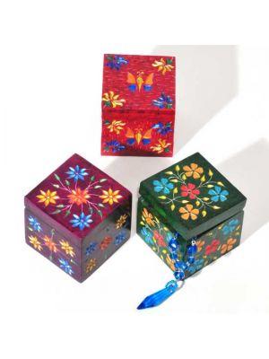 Colorful Stone Boxes Set/3 2.5